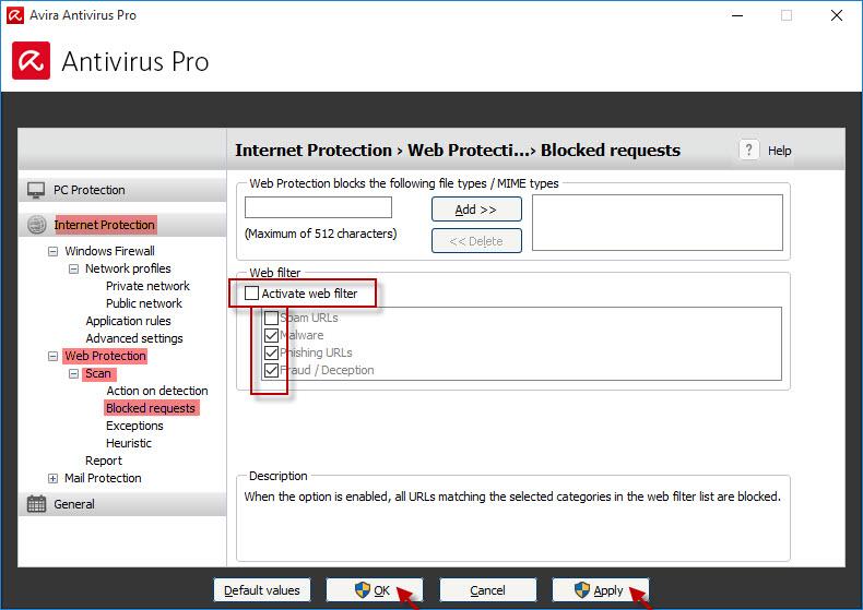 Why does Avira antivirus block certain websites? – Official
